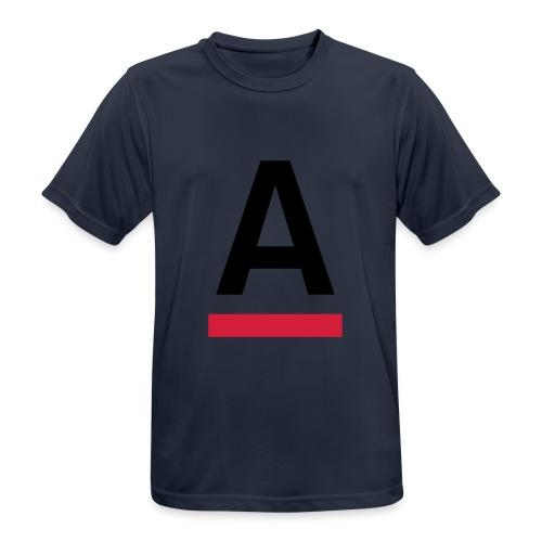 Alliansfritt Sverige A logo 2013 Färg - Andningsaktiv T-shirt herr