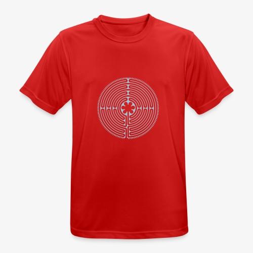Labyrinth von Chartres - Männer T-Shirt atmungsaktiv