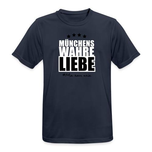 Münchens wahre Liebe - Männer T-Shirt atmungsaktiv