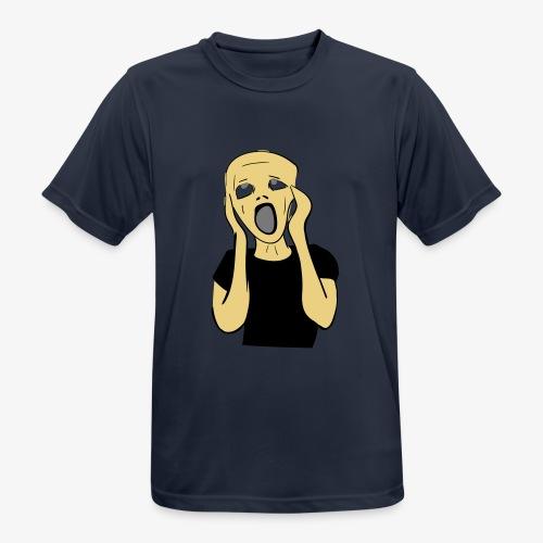 HUUTAJA - miesten tekninen t-paita