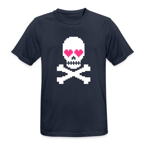 Skull Love - Mannen T-shirt ademend actief