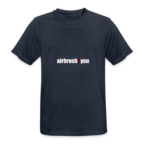 Airbrush - Männer T-Shirt atmungsaktiv