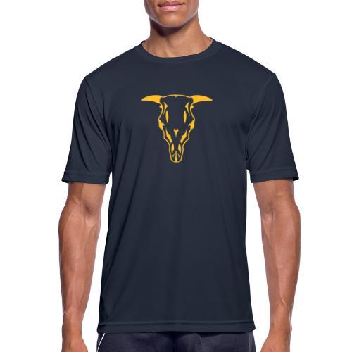 stier schaedel - Männer T-Shirt atmungsaktiv
