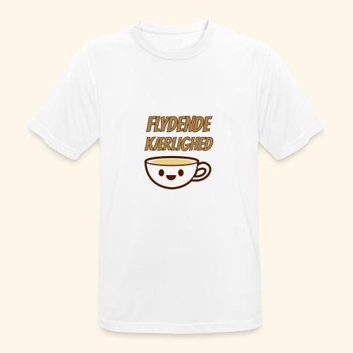 Flydende kærlighed - Herre T-shirt svedtransporterende