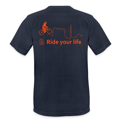 Ride Your Life - Maglietta da uomo traspirante