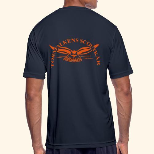 Tornfalkens scoutkår Logo - Andningsaktiv T-shirt herr