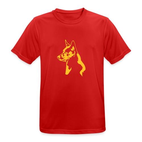 australiankelpie - miesten tekninen t-paita