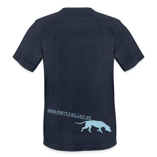 Mantrailer.at Logo V1 - Männer T-Shirt atmungsaktiv