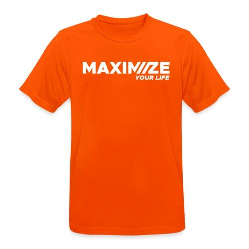 MAXIMIZE Your Life - Men's Breathable T-Shirt