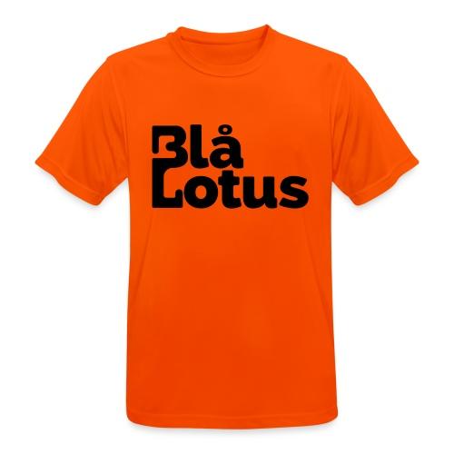 Blå Lotus_logo - Andningsaktiv T-shirt herr