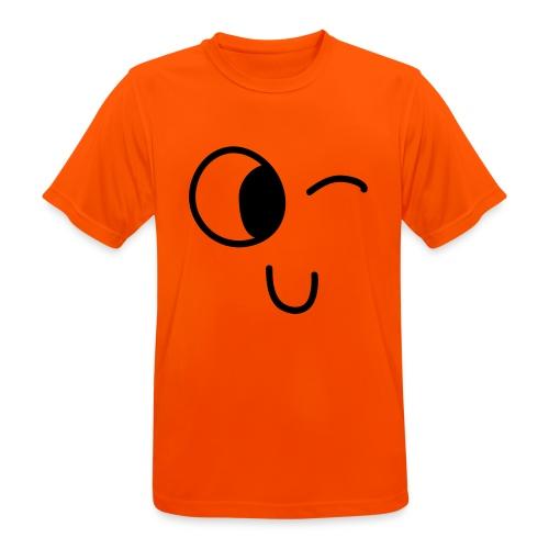 Jasmine's Wink - Mannen T-shirt ademend actief