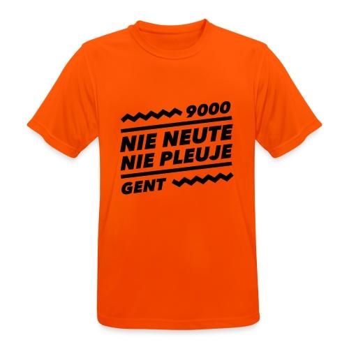 NIENEUTENIEPLEUJE - Mannen T-shirt ademend actief