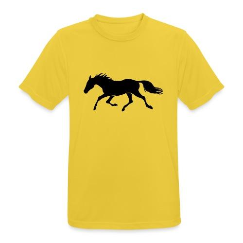 Cavallo - Maglietta da uomo traspirante