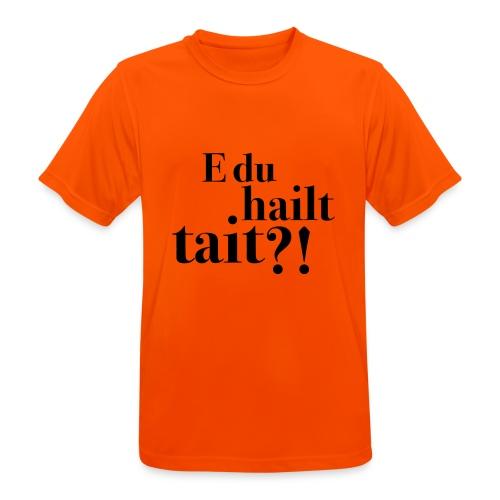 Hailttait - Pustende T-skjorte for menn