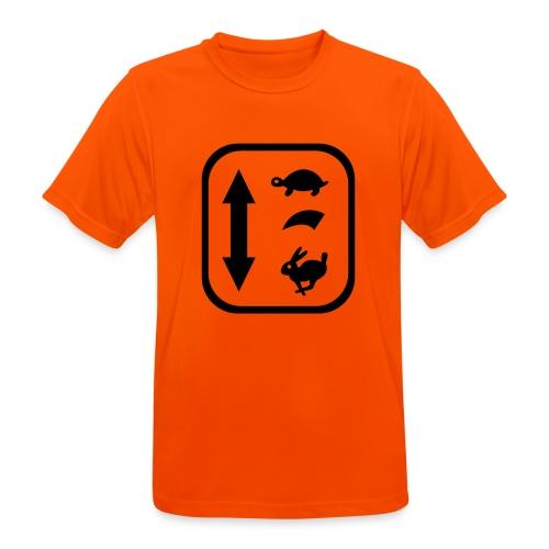traktor schaltung - Männer T-Shirt atmungsaktiv