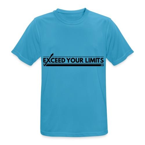 exceedyourlimits chest - Männer T-Shirt atmungsaktiv