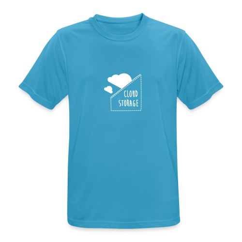 Cloud Storage - Männer T-Shirt atmungsaktiv