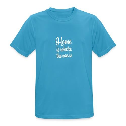 Home is where the van is - Autonaut.com - Men's Breathable T-Shirt