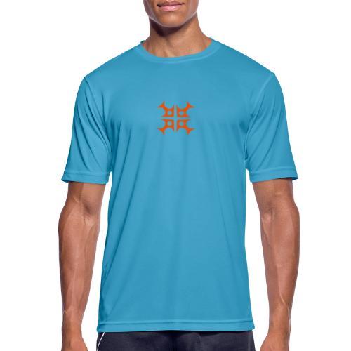 fish_kreuz_geleit - Männer T-Shirt atmungsaktiv