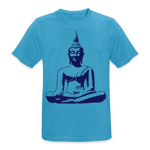 Boeddha beeld - Mannen T-shirt ademend actief