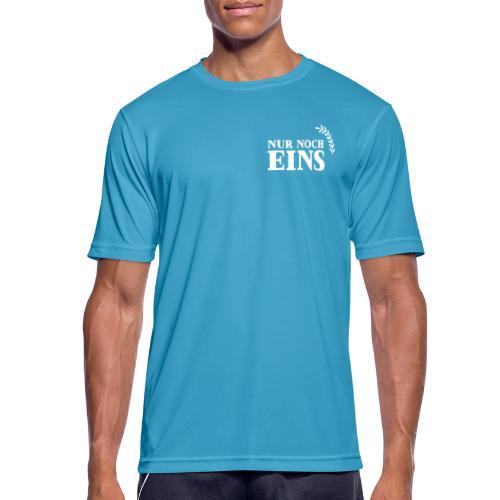 Nur noch eins (Druck vorne+hinten) - Männer T-Shirt atmungsaktiv
