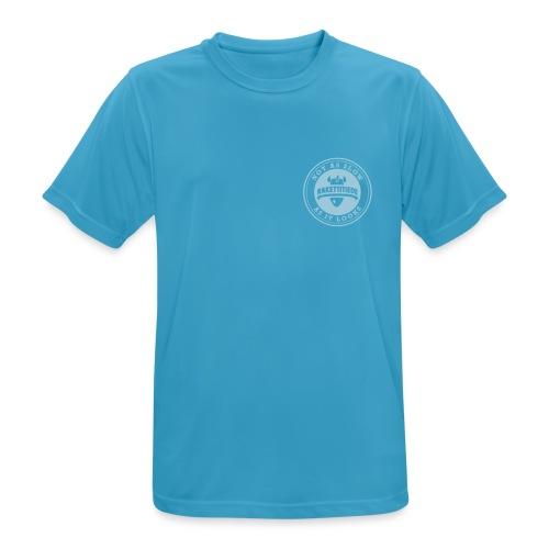 Run smaller run - miesten tekninen t-paita