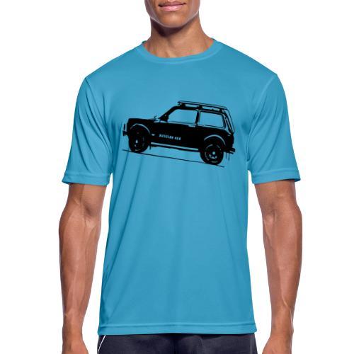 Lada Niva 2121 Russin 4x4 - Männer T-Shirt atmungsaktiv