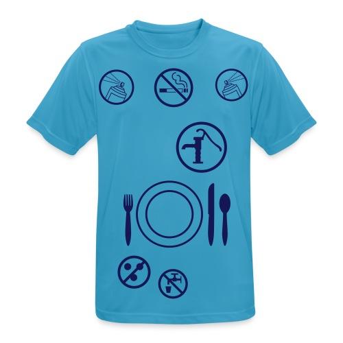 2Tatoos_Vorderseite - Männer T-Shirt atmungsaktiv
