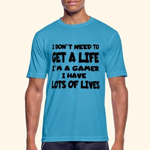 Gamer 002 - Mannen T-shirt ademend actief