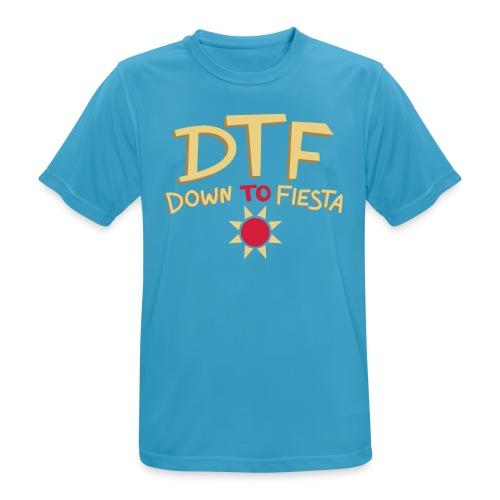 Perfect DTF - Mannen T-shirt ademend actief