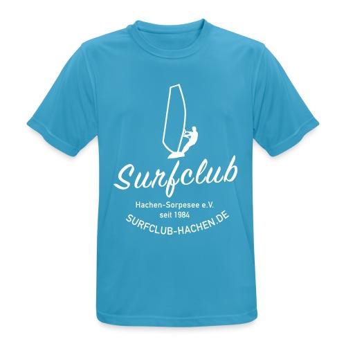 logo_surfclub_weiss_RZ - Männer T-Shirt atmungsaktiv