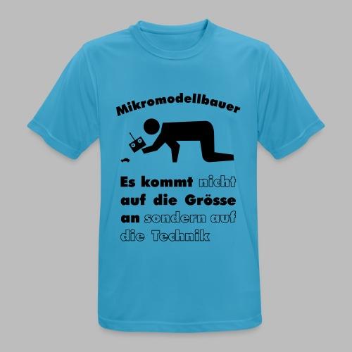 Mikromodellbau Weisheit - Männer T-Shirt atmungsaktiv