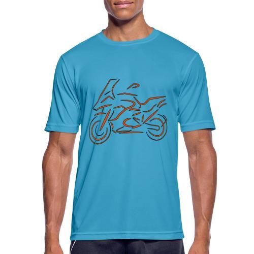 Motorrad Fahrer, Bike, Biker, 1200 - Männer T-Shirt atmungsaktiv