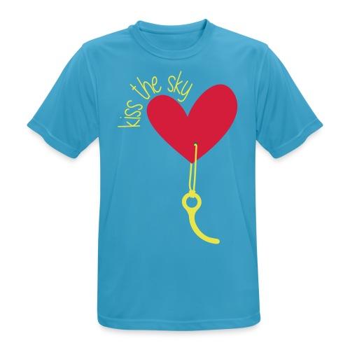 Kiss the Sky 2.0 - Männer T-Shirt atmungsaktiv