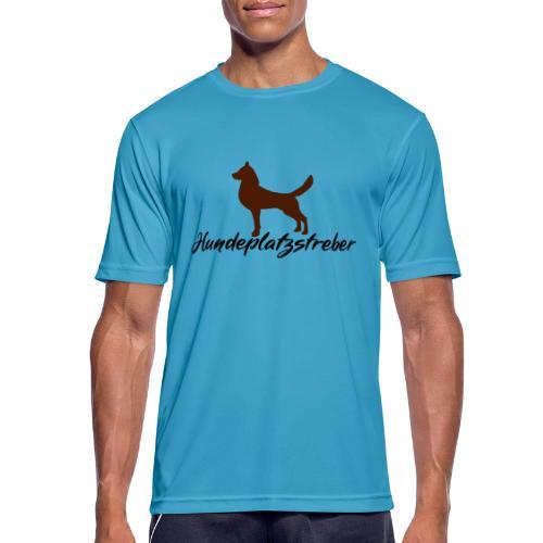 Hundeplatz-Streber / Hundeschule Design Geschenk - Männer T-Shirt atmungsaktiv