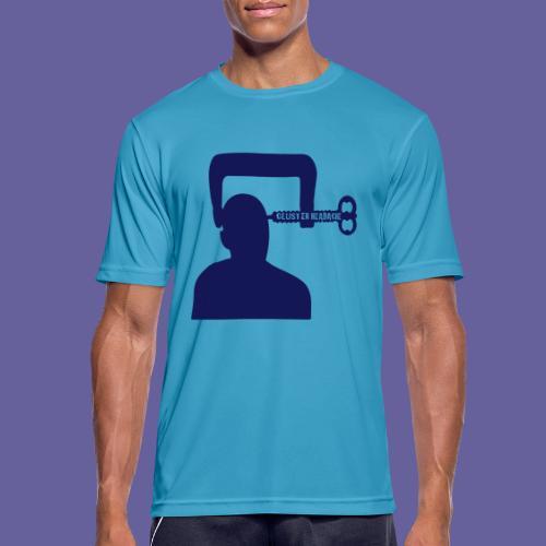 Mal de tête en grappe dans un étau - T-shirt respirant Homme