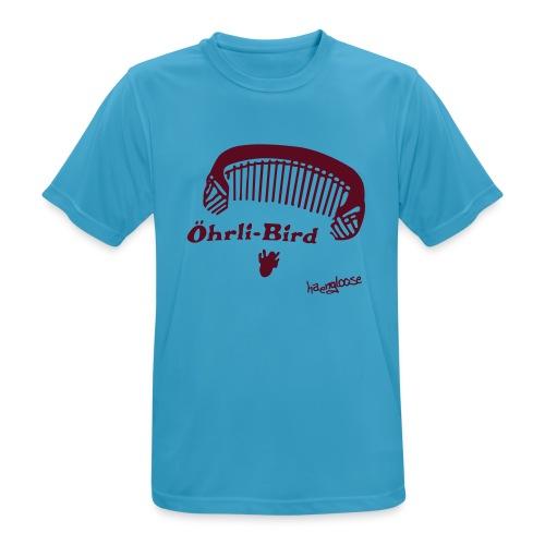 oehrlibird brown - Männer T-Shirt atmungsaktiv