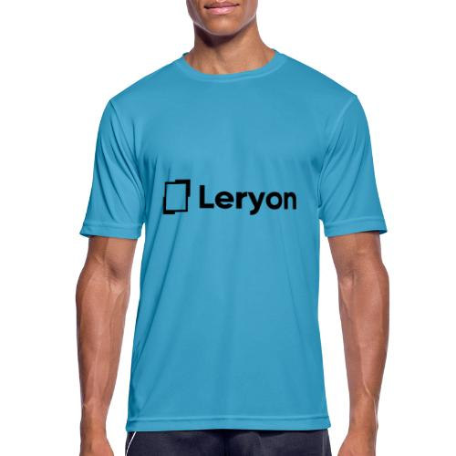 Leryon Text Brand - Men's Breathable T-Shirt