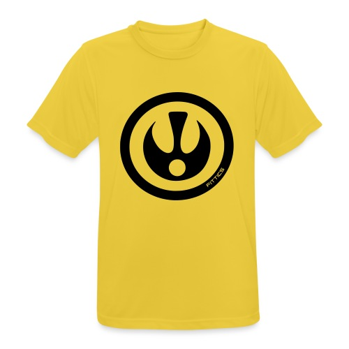 FITTICS SHIELD Red - Men's Breathable T-Shirt
