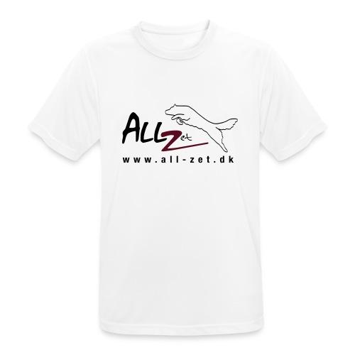 All Zet Logo - Herre T-shirt svedtransporterende