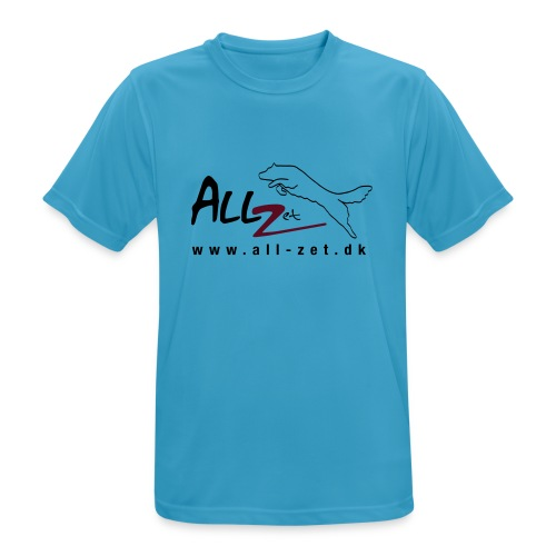 All Zet Logo - Herre T-shirt svedtransporterende