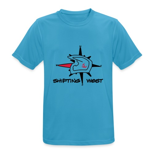 Shifting West Logo vector - Mannen T-shirt ademend actief