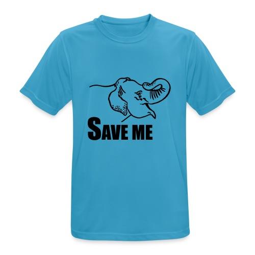 Save Me I Elefant - Männer T-Shirt atmungsaktiv