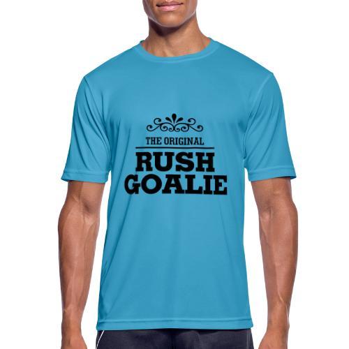 The Original Rush Goalie - Men's Breathable T-Shirt