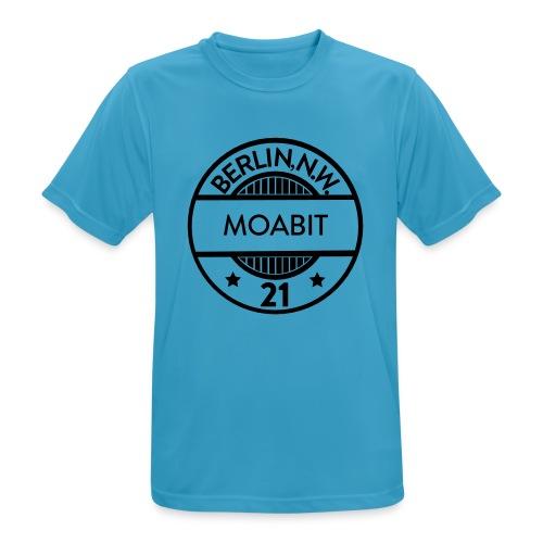 Moabit 21 - Männer T-Shirt atmungsaktiv