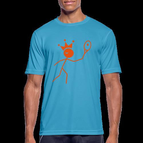 Tenniskoning - mannen T-shirt ademend