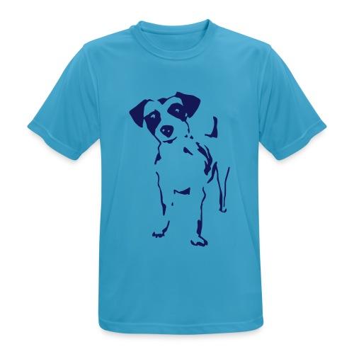 Jack Russell Terrier - Männer T-Shirt atmungsaktiv