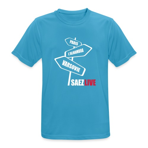 Varsovie (version light, par parek) - T-shirt respirant Homme
