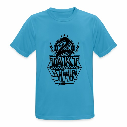 2-Takt-Star / Zweitakt-Star - Men's Breathable T-Shirt