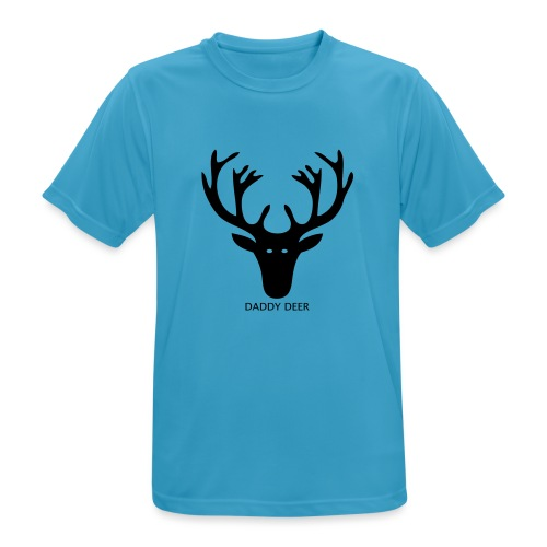 DADDY DEER - Men's Breathable T-Shirt